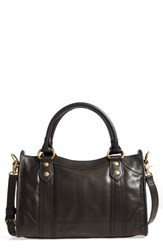 Frye Melissa Leather Satchel Black