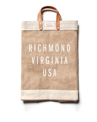 Apolis Richmond Market Bag Natural Brown