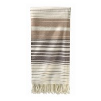 Pendleton 5Th Avenue Throw Neutral Stripe