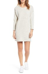 Current Elliott Women's The Painter Stripe T Shirt Dress