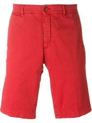 Moncler Bermuda Shorts Red