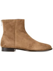 Jimmy Choo 'Duke' Ankle Boots Brown
