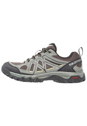 Salomon Evasion 2 Aero Walking Shoes Castor Gray Beluga Fern Dark Grey