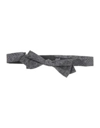 Messagerie Bow Ties Grey