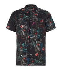 Paul Smith Ps By Tropical Short Sleeve Shirt Male Black