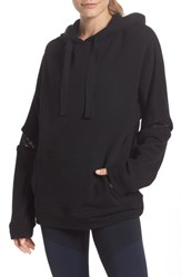 Alala Notch Hoodie Sweatshirt Black