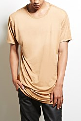 Forever 21 Victorious Faux Suede Zip Tee