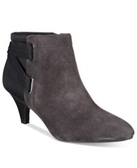 Alfani Women's Vandela Ankle Booties Only At Macy's Women's Shoes Anthracite Suede