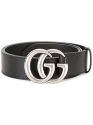 Gucci Gg Buckle Belt Black