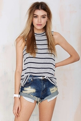 Nasty Gal Line Up Striped Tank