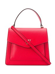 Dkny Whitney Small Shoulder Bag Red