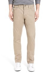 Men's 'Stay Rvca' Slim Straight Pants Dark Khaki