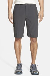 Mountain Hardwear Men's 'Castil' Cargo Shorts Shark Black