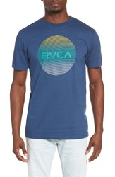 Rvca Men's Motors Lined Graphic T Shirt
