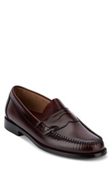 G.H. Bass Men's And Co. Logan Penny Loafer Burgundy Leather