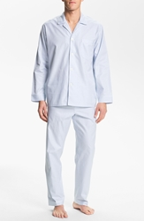 Majestic International Herringbone Cotton Pajamas Surf
