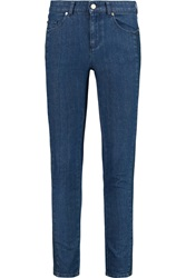 Alexander Mcqueen Mid Rise Straight Leg Jeans