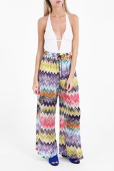 Missoni Women S Zigzag Wide Leg Trousers Boutique1 Multi