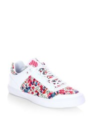 K Swiss Courtstyle Gstaad Neu Sleek Liberty Leather Sneakers White Roco