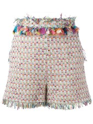 Msgm Embroidery Shorts
