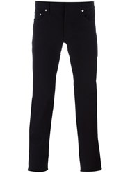 Christian Dior Homme '17.5 Stretch' Jeans Black