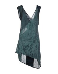 Alessandra Marchi Dresses Short Dresses Women Dark Green