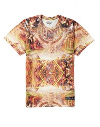 Eleven Paris T Shirt With Jesus Back Print Multi
