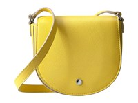 Ecco Iola Small Saddle Bag Lemon Handbags Yellow