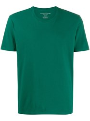 Majestic Filatures Plain Crew Neck T Shirt Green