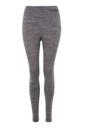 Topshop Seamless Soft Touch Leggings Grey Marl