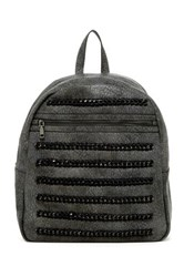 Urban Expressions Echo Chain Backpack Gray