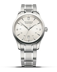 Victorinox Swiss Army Silver Alliance Watch 40Mm
