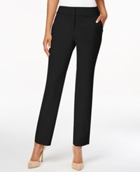 Charter Club Straight Leg Cropped Pants Only At Macy's Deep Black
