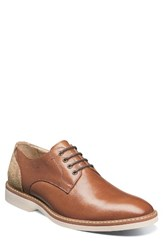 Florsheim Men's Union Buck Shoe Cognac Leather