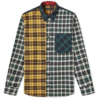 Raised By Wolves Mixed Plaid Shirt Multi