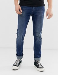 Tom Tailor Slim Fit Jeans In Mid Stone Wash