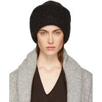 c4697d2ae6142 Lauren Manoogian Black Alpaca Carpenter Beanie