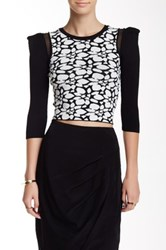 Stella And Jamie Aster Cropped Top Multi