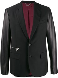 John Richmond Contrast Sleeved Blazer 60