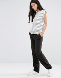 Vero Moda Peg Trousers Black