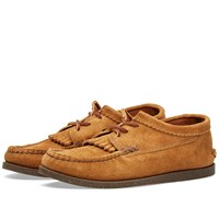 Yuketen Camp Sole Kiltie Blucher Brown