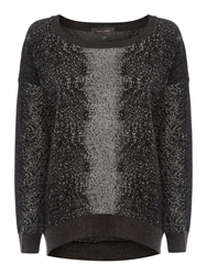 Pied A Terre Textured Easy Sweater Multi Coloured