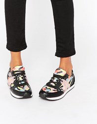 Aldo Multi Printed Trainers Multi Black