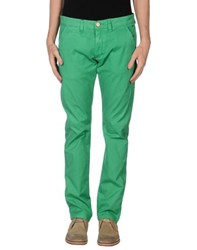 Sun 68 Trousers Casual Trousers Men Emerald Green