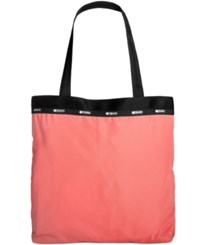 Le Sport Sac Lesportsac Travel System Simply Square Tote Coral Gables