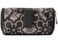 Petunia Pickle Bottom Jacquared Whereabouts Wallet London Mist Wallet Handbags Black