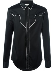 Saint Laurent Western 'Rock' Shirt Black