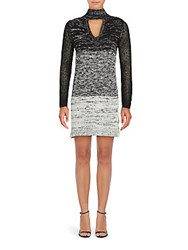 Minkpink Spectrum Knit Dress Black