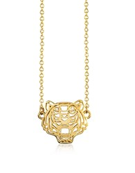 Kenzo Mini Tiger Necklace Gold