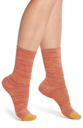 Paul Smith Emily Twinkletoes Crew Socks Multi Coral